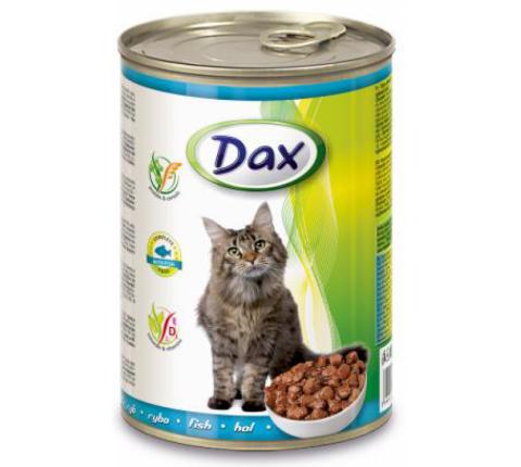 DAX konzerva pre mačky ryba 415 g