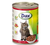 DAX konzerva pre mačky hovädzie 415 g