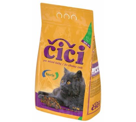 ČiČi granule pre mačky hydina 1,7 kg