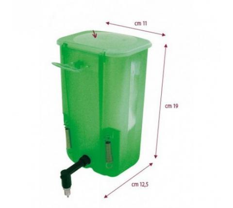 Napájačka pre králiky (zelená) 1000 ml