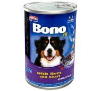 Konzerva pre psov BONO Adult hovädzia 1250 g