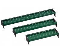 Kŕmny žľab PVC/ZN 100 cm